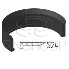 Опорно-грязезащитное кольцо поршня S24 производства ООО «МПИ-Агро» TM Ringroup