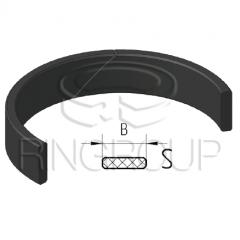 Опорно-направляющее кольцо поршня и штока S производства ООО «МПИ-Агро» TM Ringroup