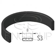 Опорно-направляющее кольцо поршня S3 производства ООО «МПИ-Агро» TM Ringroup