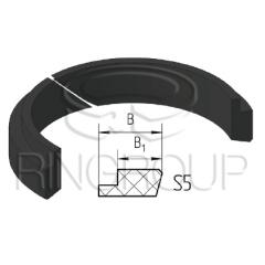 Опорно-направляющее кольцо штока S5 производства ООО «МПИ-Агро» TM Ringroup