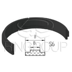 Опорно-направляющее кольцо штока S6 производства ООО «МПИ-Агро» TM Ringroup