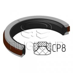 Уплотнение поршня CP8 МПИ-АГРО TM Ringroup