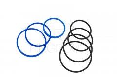 Ремкомплект гидроцилиндра подъема прицепа 2ПТС-4 манжеты полиуретановые
