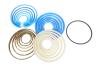 Ремкомплект гидроцилиндра Подъема кузова (6-ти штоковый) (полиуретановые манжеты) КАМАЗ 45142 /6520-06 /452802