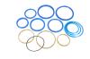 Ремкомплект гидроцилиндра Подъема прицепа (3-х штоковый) (полиуретановые манжеты) СЗАП 8543 / 8551-01