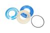 Ремкомплект гидроцилиндра Подъема кузова (3-х штоковый) (10т) (полиуретановые манжеты) КАМАЗ 5511