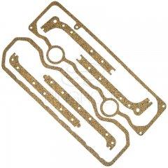 Набор прокладок клапанной крышки и поддона Д-240 (Резинопробка)