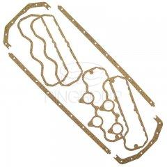 Набор прокладок клапанной крышки и поддона Д-260 (Резинопробка)