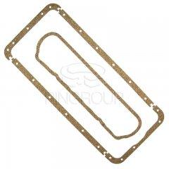 Набор прокладок клапанной крышки и поддона Д-65 (Резинопробка)
