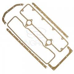 Набор прокладок клапанной крышки и поддона СМД-14/22 (Резинопробка)