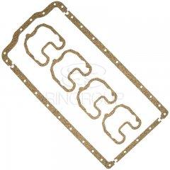 Набор прокладок клапанной крышки и поддона Д-144 (Резинопробка)