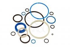 Ремкомплект гидроцилиндра ЦС-100 (н/о) (манжеты полиуретановые) (406п)